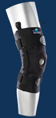 Bio Skin Hinged Knee Brace w/ Univ Buttress